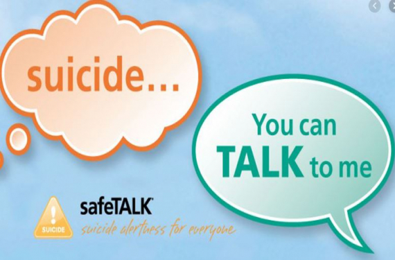 HSE SafeTALK suicide prevention Talk in Mullingar Jan  30th from 10-1.30pm