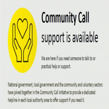 The Community Call helpline